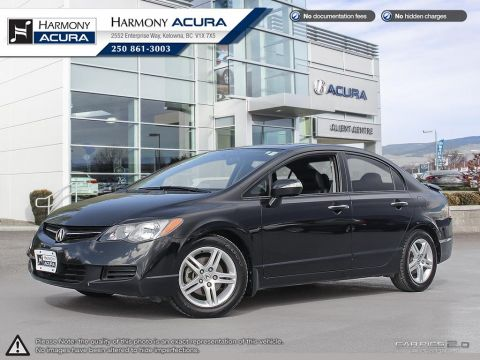 Pre-Owned 2007 Acura CSX BC VEHICLE - NO ACCIDENTS - NON SMOKER - LOW KM - SUNROOF - FUEL EFFICIENT