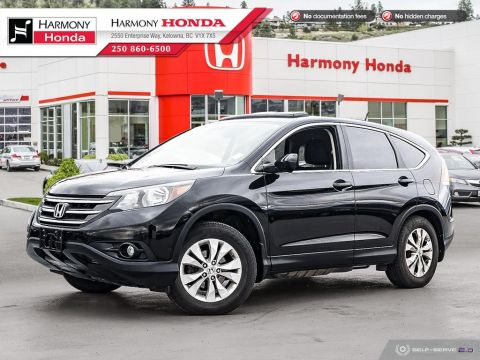 Pre-Owned 2013 Honda CR-V EX - BC VEHICLE - NON-SMOKER - VERY RELIABLE - SUNROOF VISOR - BACKUP CAMERA - HEATED SEATS