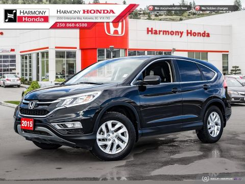 Pre-Owned 2015 Honda CR-V EX-L - LOCAL VEHICLE - NO ACCIDENTS / DAMAGE - ONE OWNER - SUNROOF - BACKUP CAMERA - FULLY SERVICED