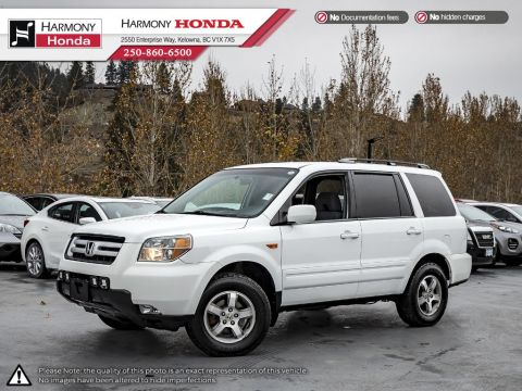 Pre-Owned 2007 Honda Pilot EX - BC VEHICLE - NO ACCIDENTS - NON SMOKER - 3M ROCK GUARD PROTECTION - NEW BRAKES - FOG LIGHTS