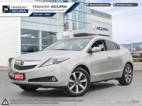 Pre-Owned 2013 Acura ZDX TECH PKG - 1 OWNER - NEW TIMING BELT - NEW TIRES - NAVIGATION SYSTEM - BACKUP CAM - PANORAMIC ROOF