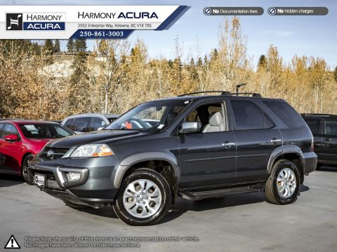 Pre-Owned 2003 Acura MDX NON-SMOKER DRIVEN - BC VEHICLE - NEW BATTERY - NEW FRONT BRAKES - LEATHER - HEATED SEATS