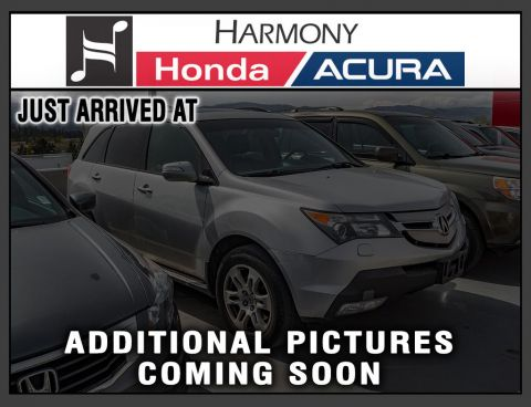 Pre-Owned 2009 Acura MDX TECH PKG