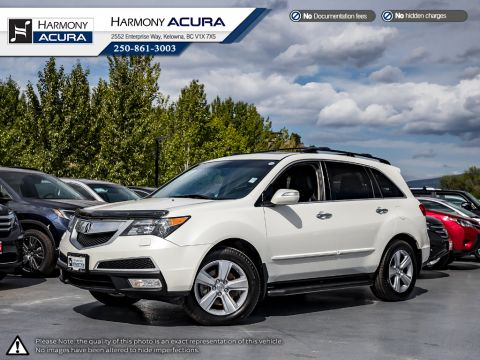 Pre-Owned 2013 Acura MDX TECH PKG - LOCAL VEHICLE - NO ACCIDENTS - ONE OWNER - BACKUP CAM - NAVI SYSTEM - PANORAMIC SUNROOF