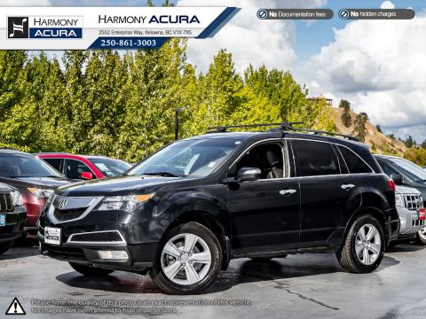 Pre-Owned 2013 Acura MDX TECH PKG - LOCAL VEHICLE - NO ACCIDENTS / DAMAGE - ONE OWNER - SUNROOF - BACKUP CAM - NAVI SYSTEM