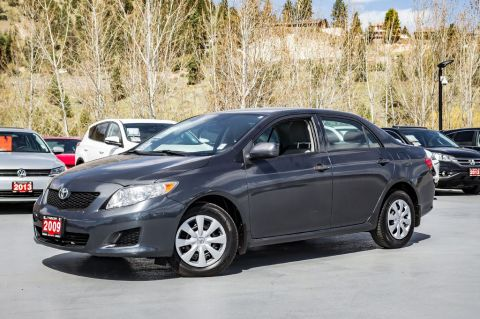 Pre-Owned 2009 Toyota Corolla CE - WELL SERVICED - VERY LOW KMS - REMOTE KEYLESS ENTRY - TIRE PRESSURE MONITORING SYSTEM