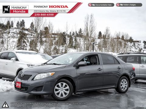 Pre-Owned 2010 Toyota Corolla WELL SERVICED - FUEL EFFICIENT - REMOTE KEYLESS ENTRY - ALLOY WHEELS - TPMS