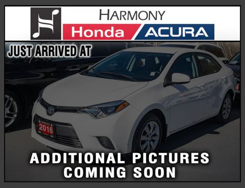 Pre-Owned 2016 Toyota Corolla CE
