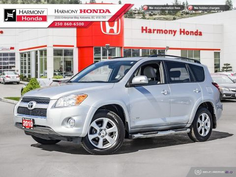 Pre-Owned 2010 Toyota RAV4 LIMITED - BC VEHICLE - NO ACCIDENTS / DAMAGE - LOW KM - SUNROOF - BACKUP CAMERA - NAVIGATION SYSTEM