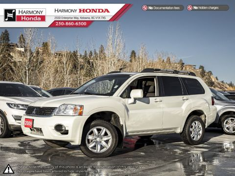 Pre-Owned 2009 MITSUBISHI ENDEAVOR XLS - NON SMOKER - LOW KM - SUNROOF - FOG LIGHTS - WELL SERVICED - SPACIOUS