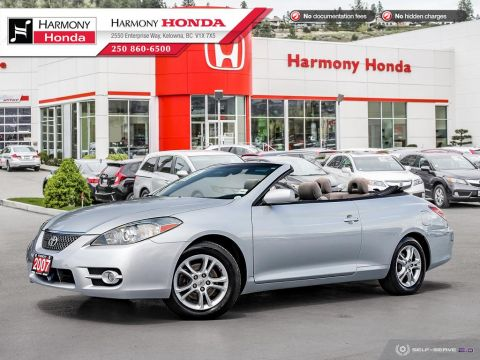 Pre-Owned 2007 Toyota Camry Solara SE - NON SMOKER - LOW KM - RELIABLE - PERFECT SUMMER CAR