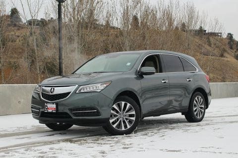 Pre-Owned 2015 Acura MDX NAVI - ONE ONWER - NON SMOKER DRIVEN - HEATED SEATS - PUSH BUTTON START - NAVIGATION SYSTEM