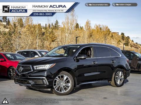 Certified Pre-Owned 2017 Acura MDX ELITE PKG