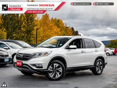 Pre-Owned 2015 Honda CR-V TOURING - BC VEHICLE - 1 OWNER - NON SMOKER - LOW KM - SUNROOF - BACKUP CAM - NAV SYSTEM - NEW TIRES