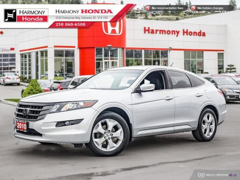 Pre-Owned 2010 Honda Accord Crosstour EX-L - NON-SMOKER DRIVEN - PET FREE - LOW KMS - WELL SERVICED - LOCAL VEHICLE