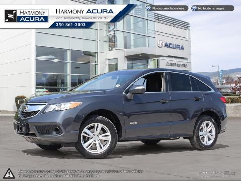 Pre-Owned 2015 Acura RDX NO ACCIDENTS / DAMAGE - NON SMOKER - LOW KMS - BACKUP CAMERA - SUNROOF - WOOD INTERIOR PKG
