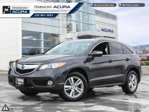 Pre-Owned 2014 Acura RDX TECH PACKAGE - LOW KMS - BC VEHICLE - ONE OWNER - WELL SERVICED - TIMING BELT JUST REPLACED