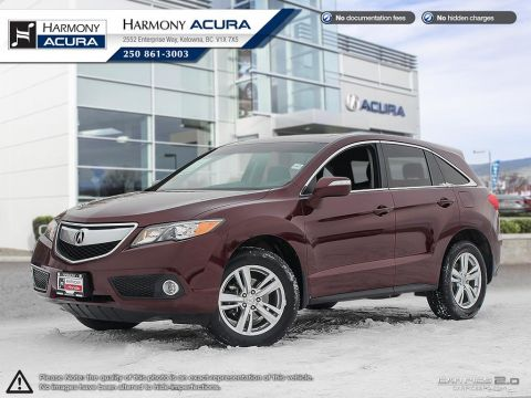 Pre-Owned 2013 Acura RDX TECH PKG - NO ACCIDENTS OR DAMAGE - LOW KMS - LEATHER INTERIOR - KEYLESS ENTRY / PUSH BUTTON START