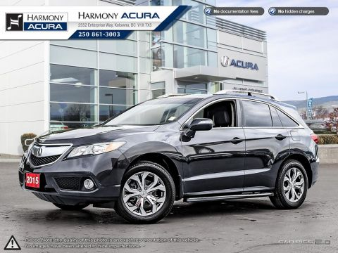 Pre-Owned 2015 Acura RDX TECH PKG - ONE OWNER - SUNROOF - BACKUP CAMERA - NAVIGATION SYSTEM - NEW TIRES - REMOTE STARTER