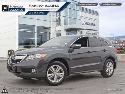Pre-Owned 2015 Acura RDX TECH - BC VEHICLE - NO ACCIDENTS / DAMAGE - NON SMOKER - NAVIGATION SYSTEM - BACKUP CAMERA - SUNROOF