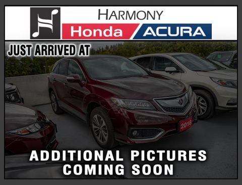 Certified Pre-Owned 2016 Acura RDX RDX ADVANCE