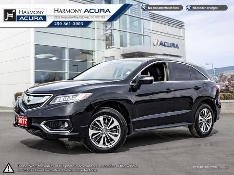 Pre-Owned 2017 Acura RDX ELITE PKG - NO ACCIDENTS - ONE OWNER - SUNROOF - BACKUP CAM - NAVI SYSTEM - FACTORY WARRANTY