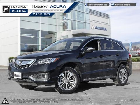 Pre-Owned 2018 Acura RDX ELITE - ONLY 20 KMS ON IT - NEW USED VEHICLE - HEATED AND COOLED SEATS - NAVIGATION - LEATHER