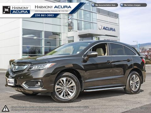 Pre-Owned 2018 Acura RDX ELITE - NO ACCIDENTS / DAMAGE - NON SMOKER - NAVI SYSTEM - BACKUP CAM - SUNROOF - FACTORY WARRANTY
