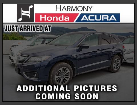 Certified Pre-Owned 2017 Acura RDX ELITE PKG