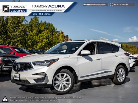 New 2020 Acura RDX TECH PKG