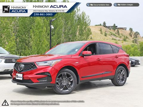 Pre-Owned 2019 Acura RDX A-SPEC - LOW KMS - LIKE NEW ACURA DEMO - NO ACCIDENTS OR DAMAGE - ACURA SAFETY - NAVIGATION SYSTEM