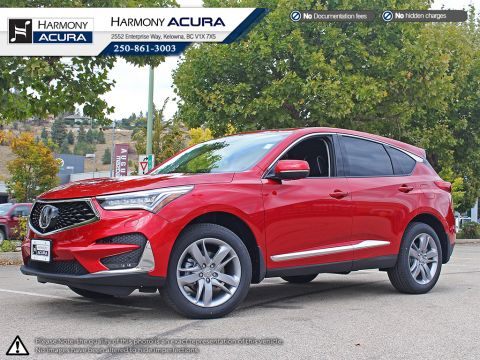 Pre-Owned 2019 Acura RDX PLATINUM ELITE - FACTORY WARRANTY - ACURA WATCH SAFETY TECHNOLOGY - LIKE NEW ACURA EXECUTIVE DEMO