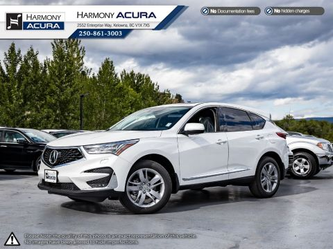 New 2020 Acura RDX PLATINUM ELITE