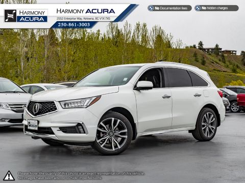 New 2019 Acura MDX ELITE 6 PASSENGER
