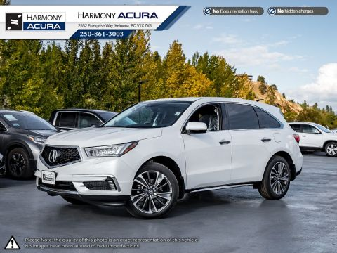 New 2020 Acura MDX TECH PLUS
