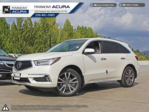 New 2019 Acura MDX ELITE