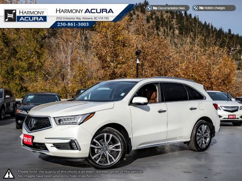 Certified Pre-Owned 2019 Acura MDX ELITE - ACURA CERTIFIED - CORP DISPLAY DEMO - NEW VEHICLE - SUNROOF - BACKUP CAM - NAVI SYSTEM