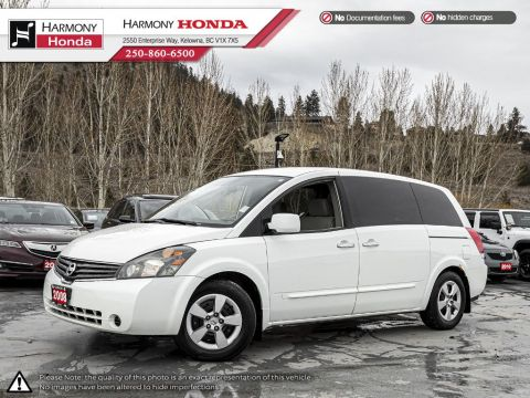 Pre-Owned 2008 Nissan Quest 3.5 V6 - NO ACCIDENTS - NON SMOKER - GREAT FAMILY VEHICLE
