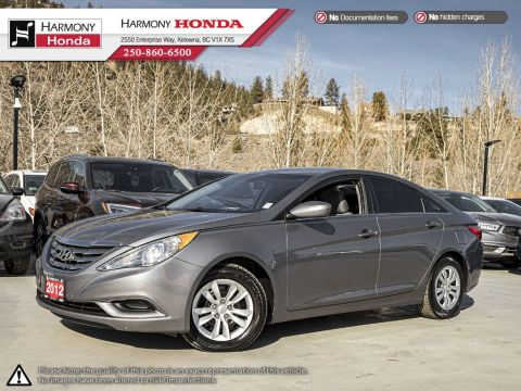 Pre-Owned 2012 Hyundai Sonata GLS - BC VEHICLE - NO ACCIDENTS / DAMAGE - LOW KM - BLUETOOTH - NEW TIRES - NEW FRONT BRAKES