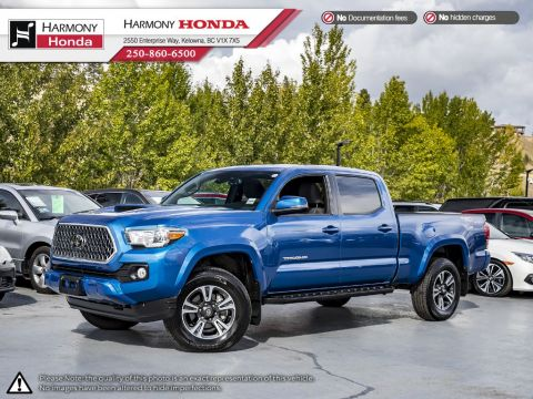 Pre-Owned 2018 Toyota Tacoma TRD SPORT - BC VEHICLE - ONE OWNER - LOW KM - BACKUP CAM - NAVI SYSTEM - BLUETOOTH - FOG LIGHTS