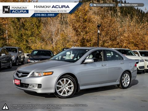 Pre-Owned 2007 Acura TSX LOW KMS - WELL TAKEN CARE OF - EX DEALER DEMO - BC VEHICLE - SUNROOF - FOG LIGHTS - HEATED SEATS