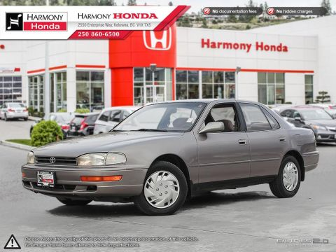 Pre-Owned 1992 Toyota Camry LE - SECURITY ANTI THEFT SYSTEM - BC VEHICLE - A/C - POWER WINDOWS DOOR LOCKS AND MIRRORS