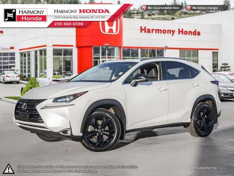 Pre-Owned 2017 Lexus NX 200t LUXURY PACKAGE - BC VEHICLE - BACKUP CAMERA - SUNROOF - FOG LIGHTS - FULLY LOADED
