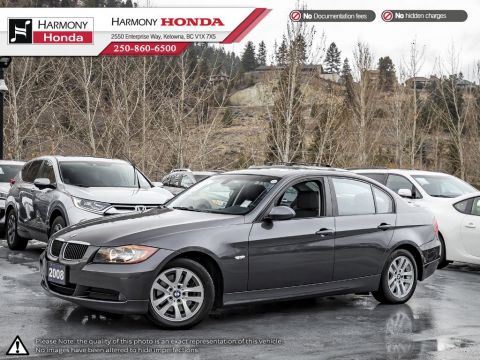 Pre-Owned 2008 BMW 3 Series 323i - BC VEHICLE - NON SMOKER - LOW KM - NEW REAR BRAKES - LEATHER INTERIOR - FUN TO DRIVE