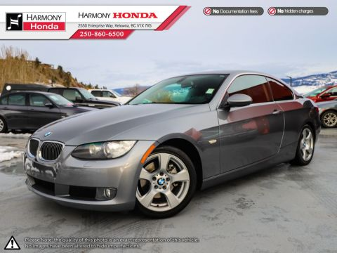Pre-Owned 2009 BMW 3 Series 328I - SUNROOF - NEW TIRES - NEW REAR BRAKES - LEATHER INTERIOR - SPORTY 3.0 L - GOOD KM