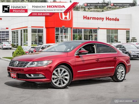 Pre-Owned 2014 Volkswagen CC HIGHLINE - BC SEDAN - NO ACCIDENTS / DAMAGE - SUNROOF - BACKUP CAM - NAVI SYSTEM - LEATHER INTERIOR